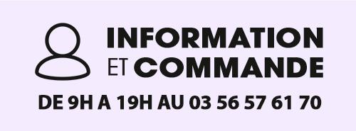 Infos et commande au 06 88 03 38 83